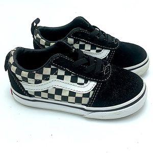 Vans little boy sneakers size 8
